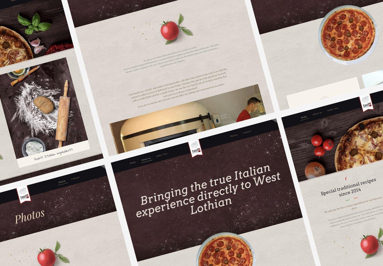 Taste Pizza | Web