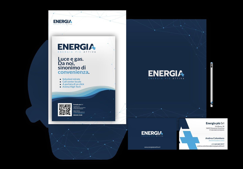 Energia Più | Brand identity