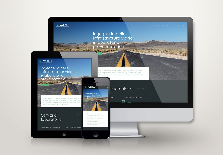 Pavenco | Sito web