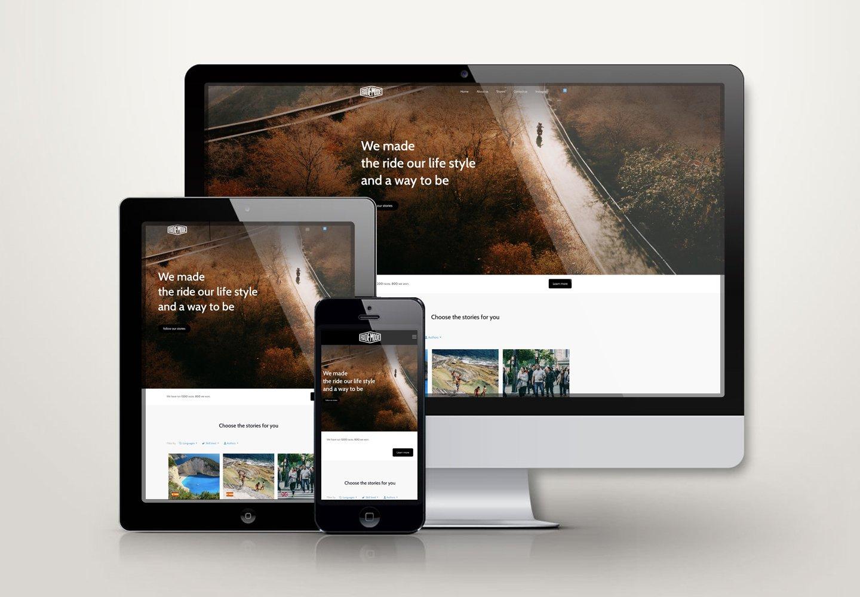 Ridemode | Sito web