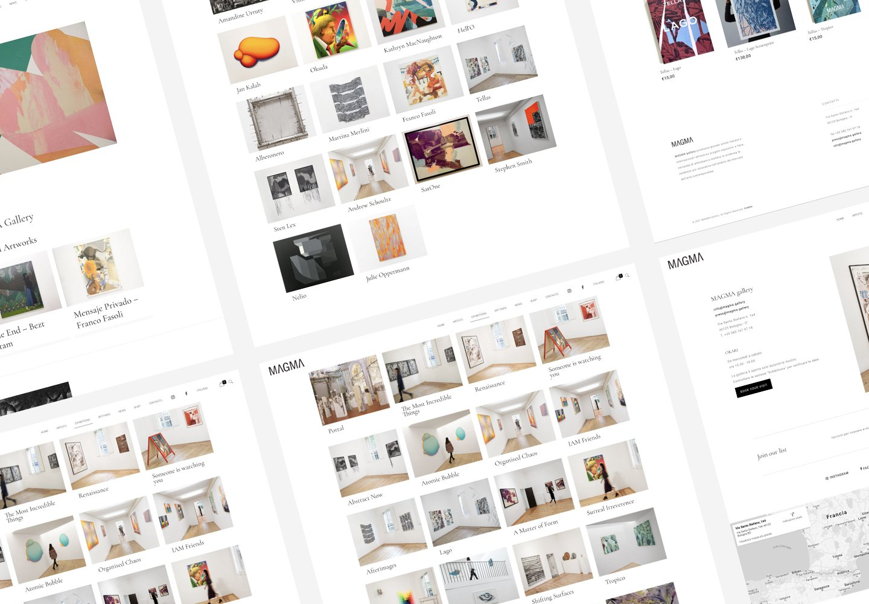 Magma Gallery | Web