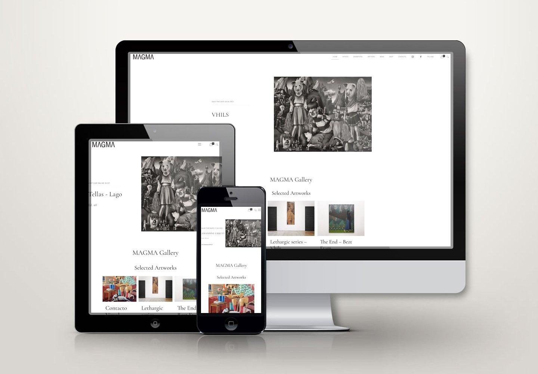 Magma Gallery   Web